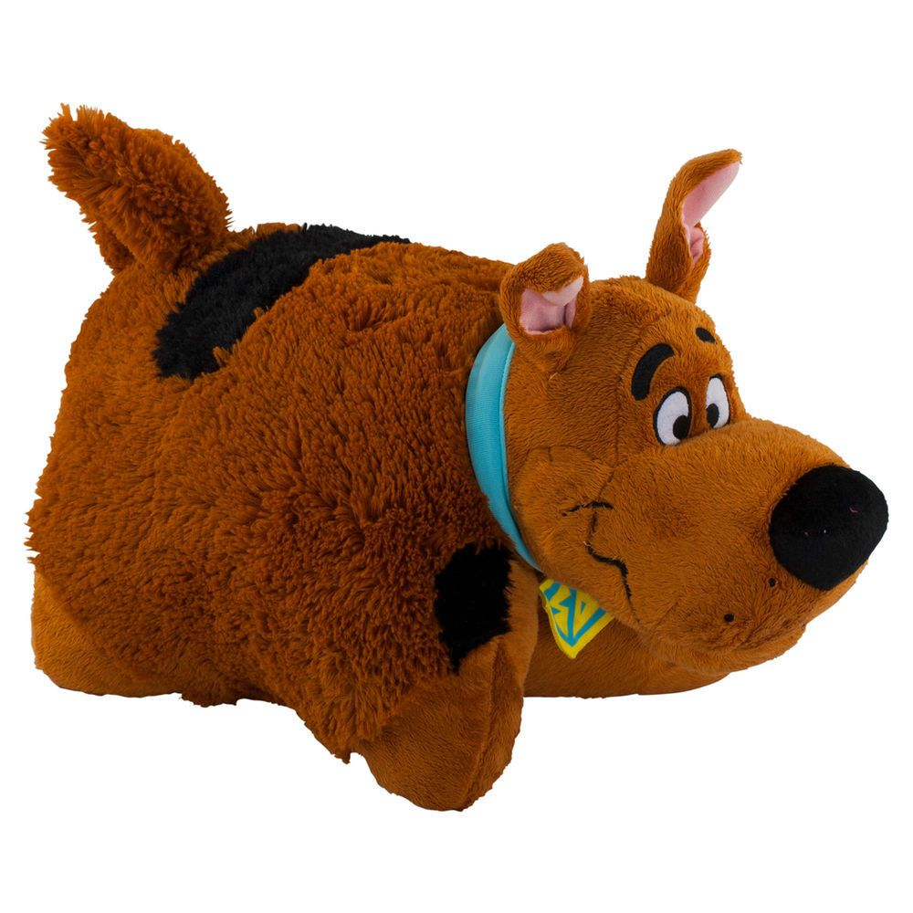 Stuffed Animal Dog Pillow : SCOOBY DOO Dog - PILLOW PET / PAL PLUSH SOFT TOY STANDARD SIZE NEW NWT Dog pillows, Buses and Pets
