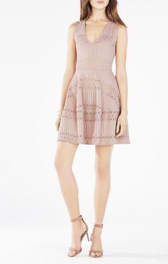 Amberly Sleeveless Lace Dress