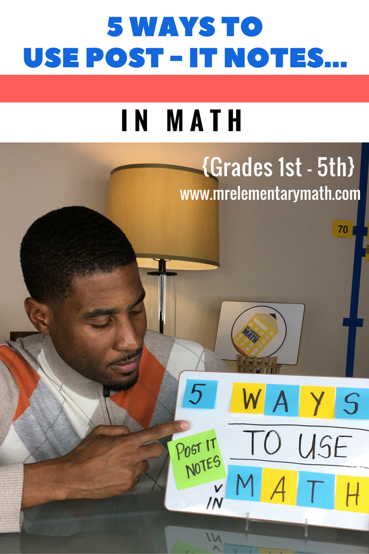 Watch Post It Notes Watch 5 Ways To Teach Math Using Post It Notes There Are Ideas