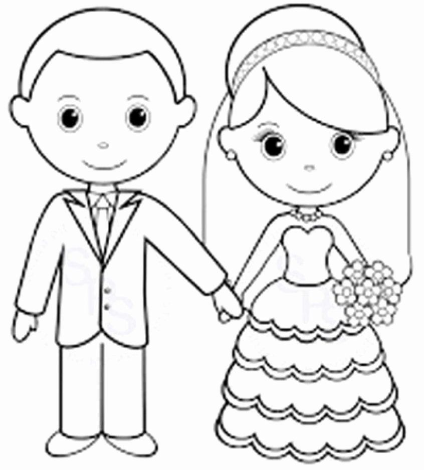 - Wedding Coloring Pages Free Printable Di 2020
