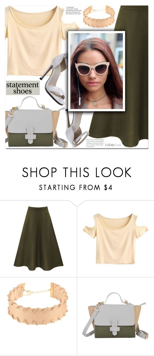 """Double Take: Statement Shoes"" by duma-duma ❤ liked on Polyvore featuring statementshoes"
