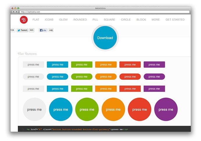 10 Generators Tools To Create Modern Css Buttons Bashooka Web Development Design Web Design Tools Web Design Tutorials