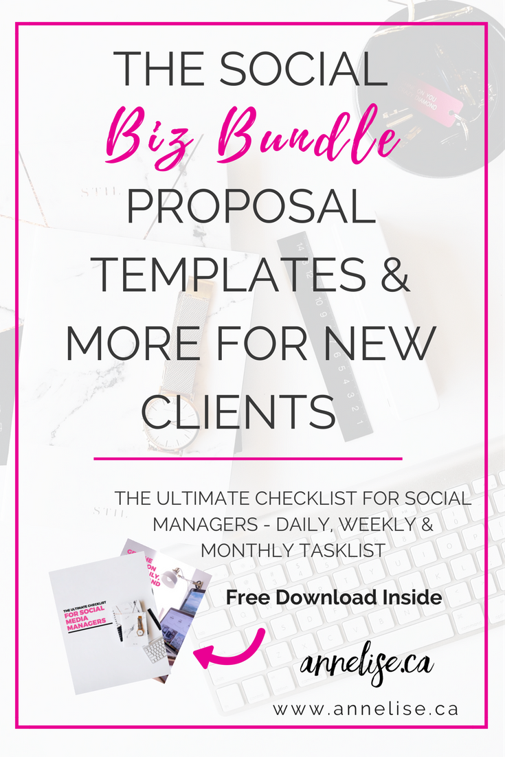 Social Media Proposal Template  Proposal Templates Template And