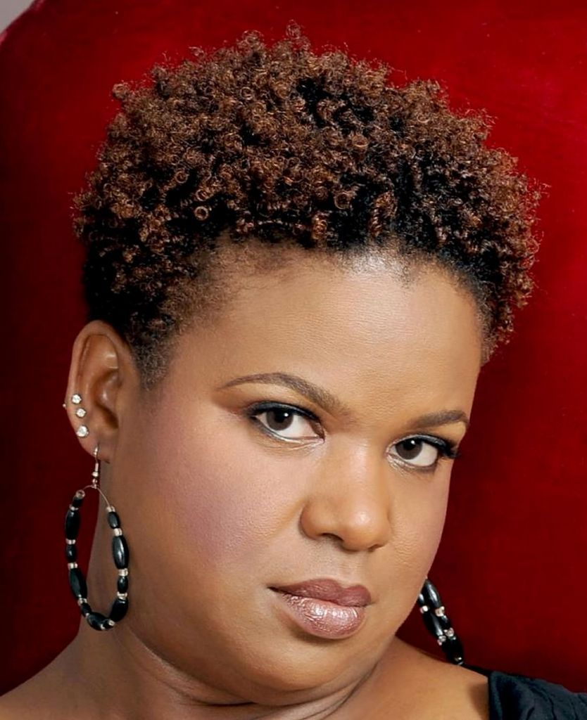 Short Hairstyles For Black Women With Round Faces Short   Black ...