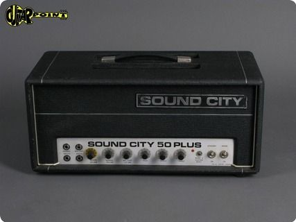 Sound City 50 Plus 1972 Black Guitar Photos Online Guitar Lessons