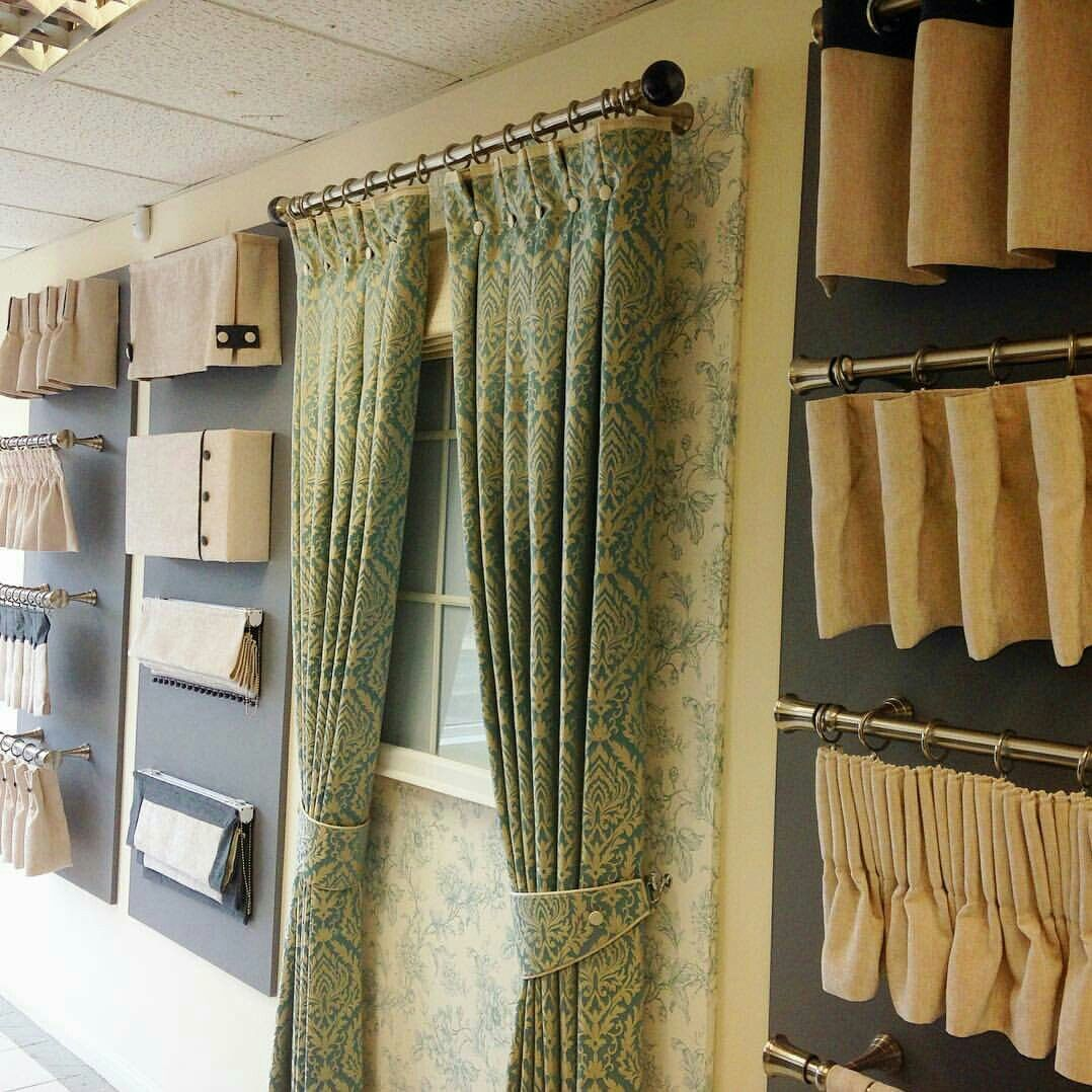 Book Displays, Store Displays, Window Displays, Valance Ideas, Curtain  Ideas, Curtain Shop, Organization Ideas, Shop Interiors, Office Ideas