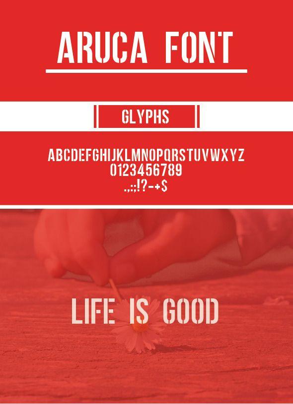 Aruca Lettering Graphic Design Portfolio Design