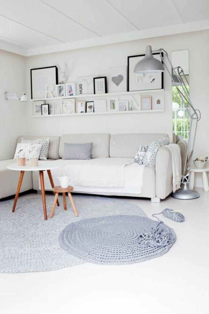Skandinavisches design 120 stilvolle ideen in bildern for Kleine wohnzimmer design
