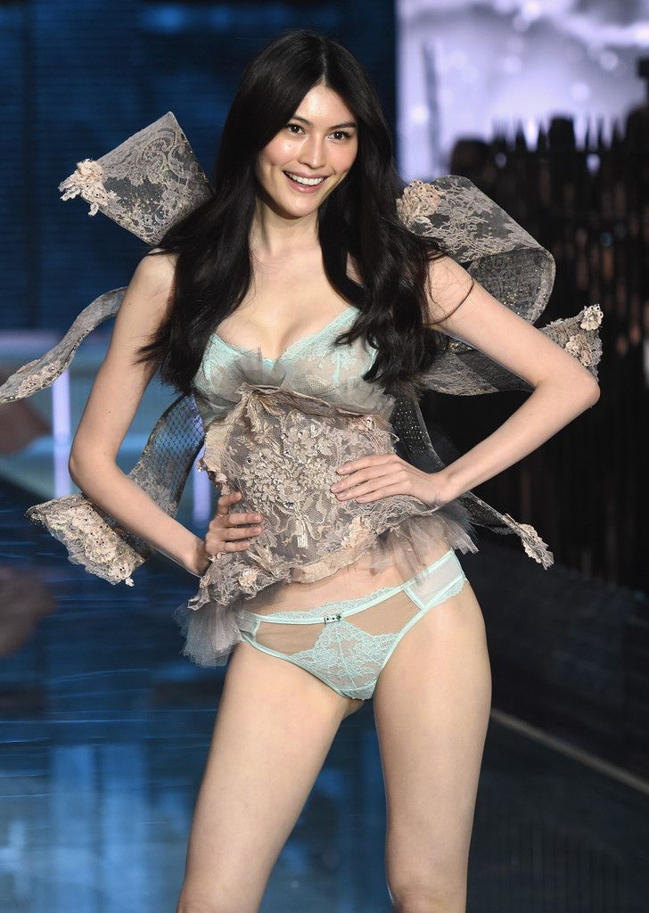 3b74315e8b Sui He from China walks the runway during the 2015 Victoria s Secret  Fashion Show