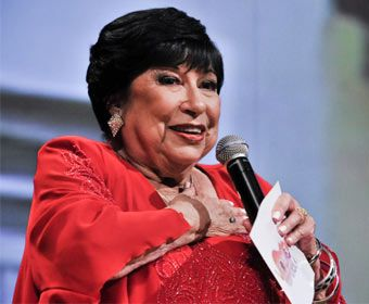 Inezita Barroso, apresentadora de televisão mais idosa