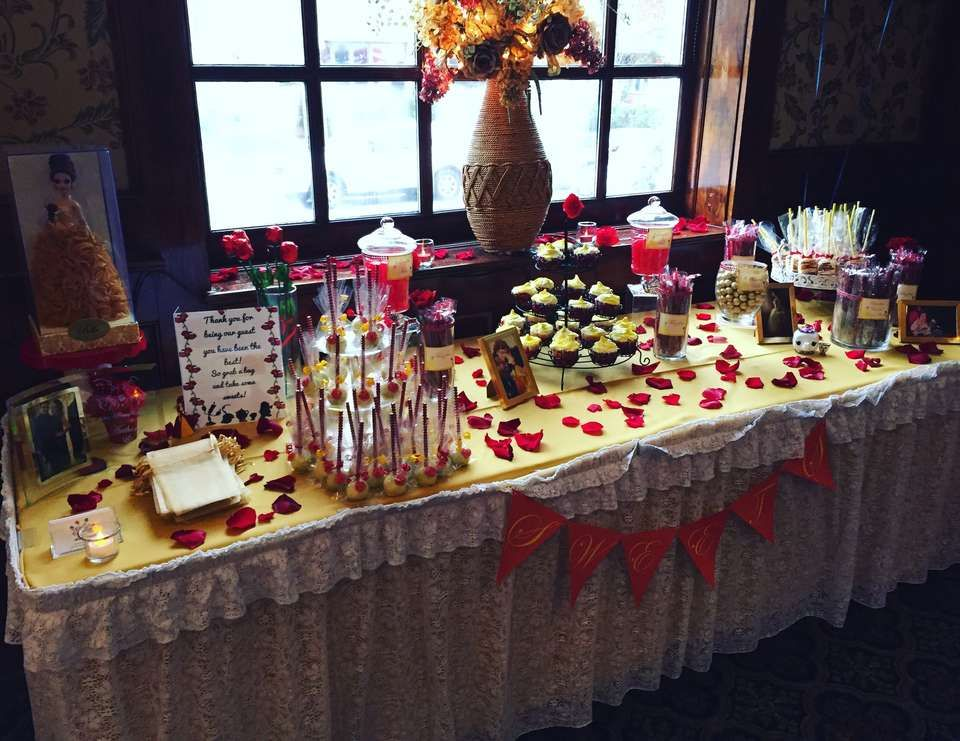 Beauty and the Beast Bridal Shower - Belle / Beauty and the Beast
