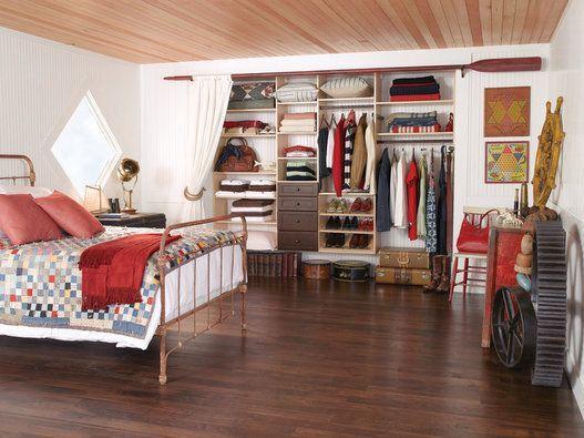 Vivere senza un armadio per i vestiti è possibile. Houzz ...