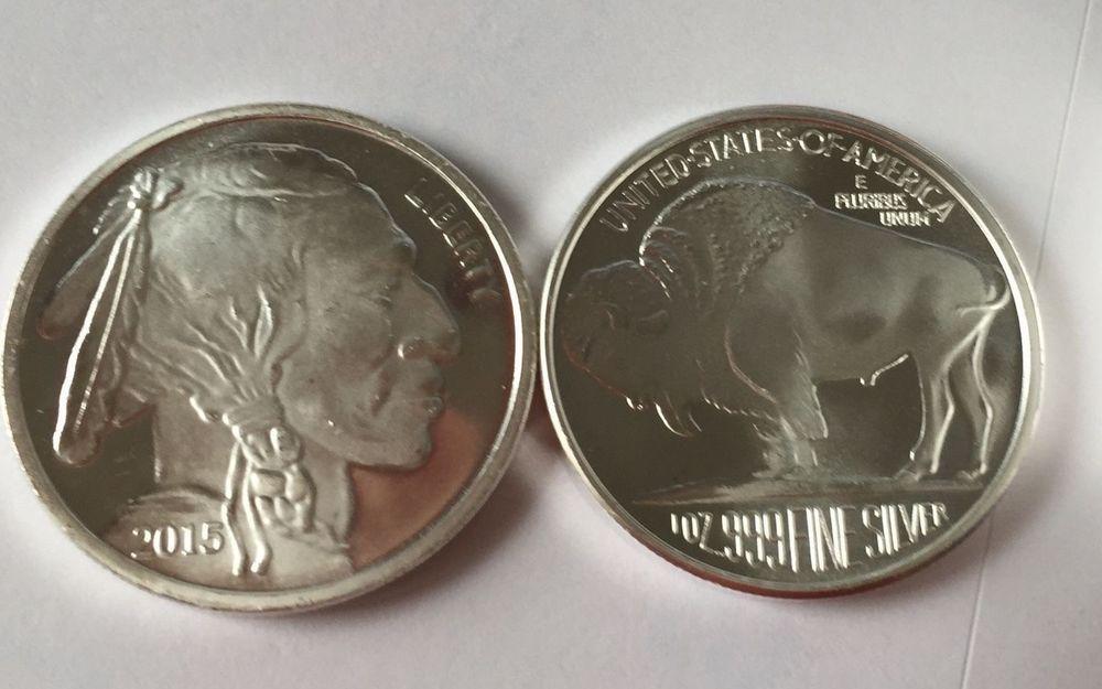 10 2015 Silver Bullion 1 Oz Buffalo Design Bullion Buy Gold And Silver Silver Bullion Bullion