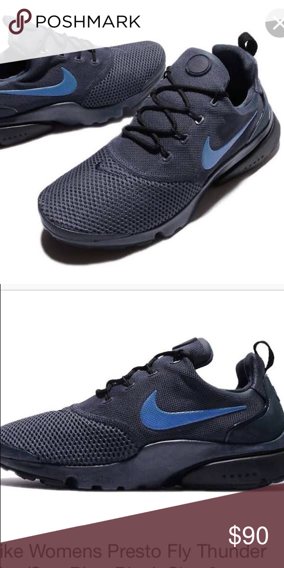 huge selection of 50fbe 08128 Nike Presto Fly Thunder Blue/Star Blue-Black 9/10 condition ...