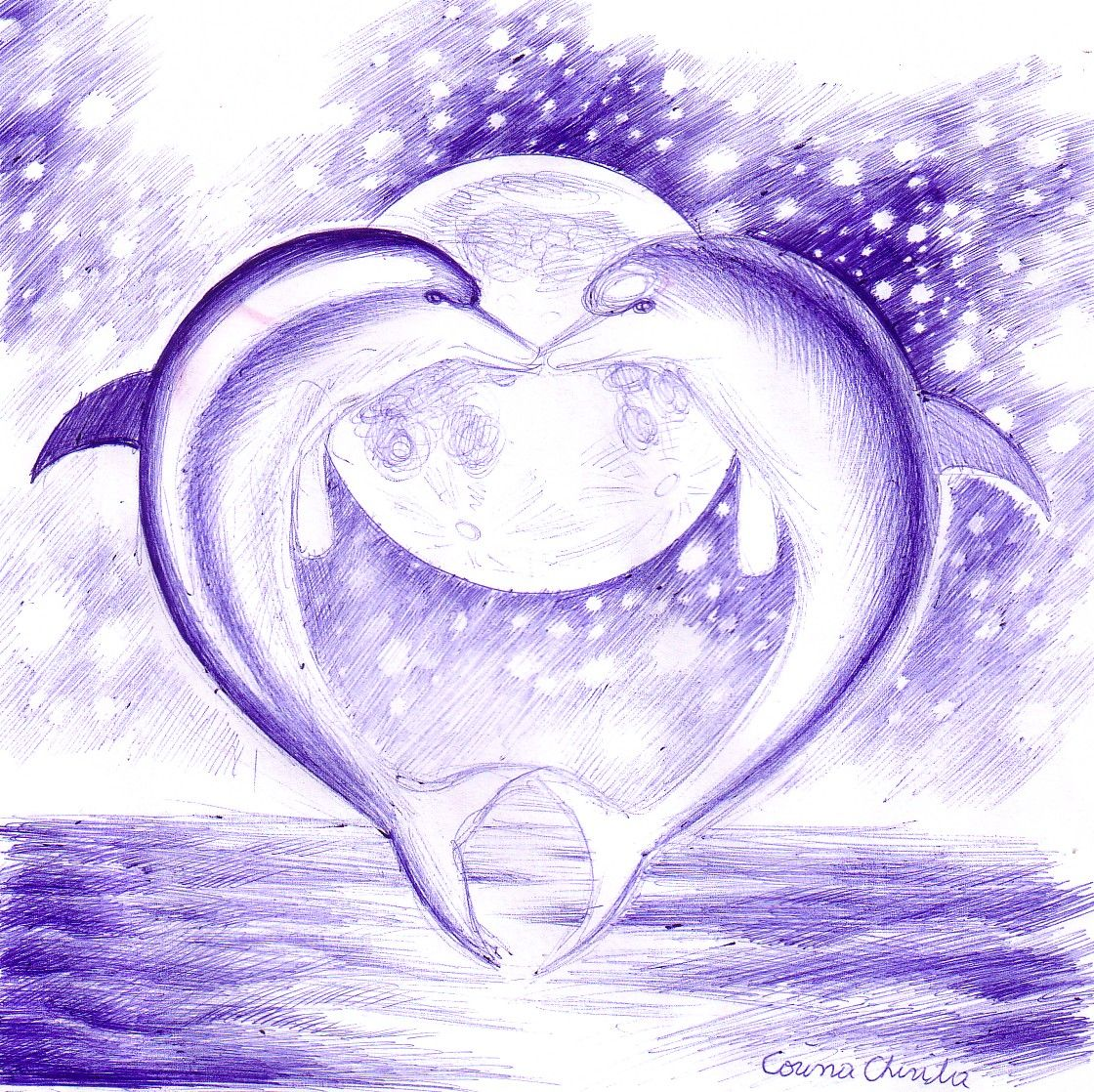 dolphin heart tattoo pinterest tattoo dolphins tattoo and