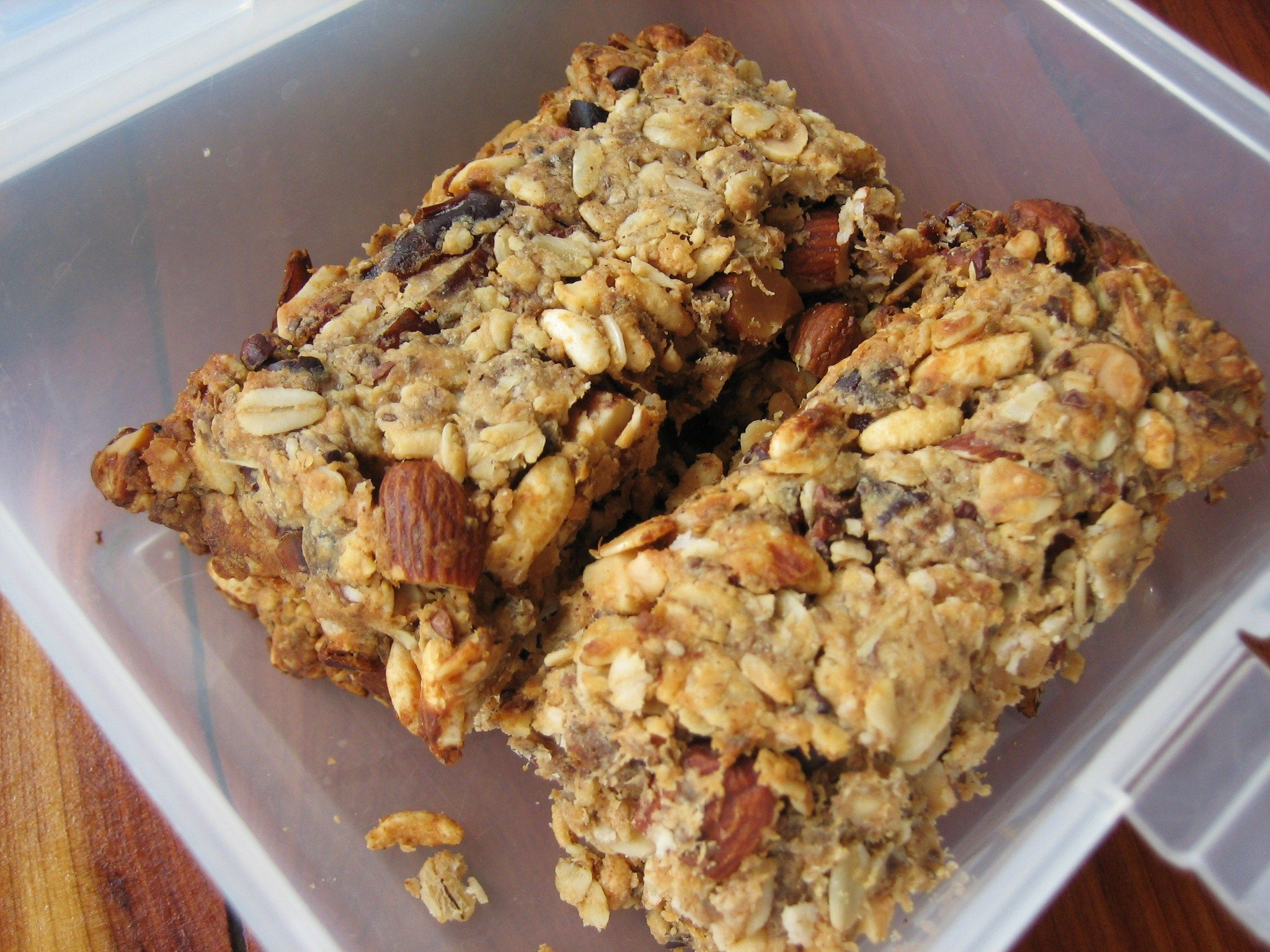 High Protein Granola Bars  Perfect Lunch Box treats    low