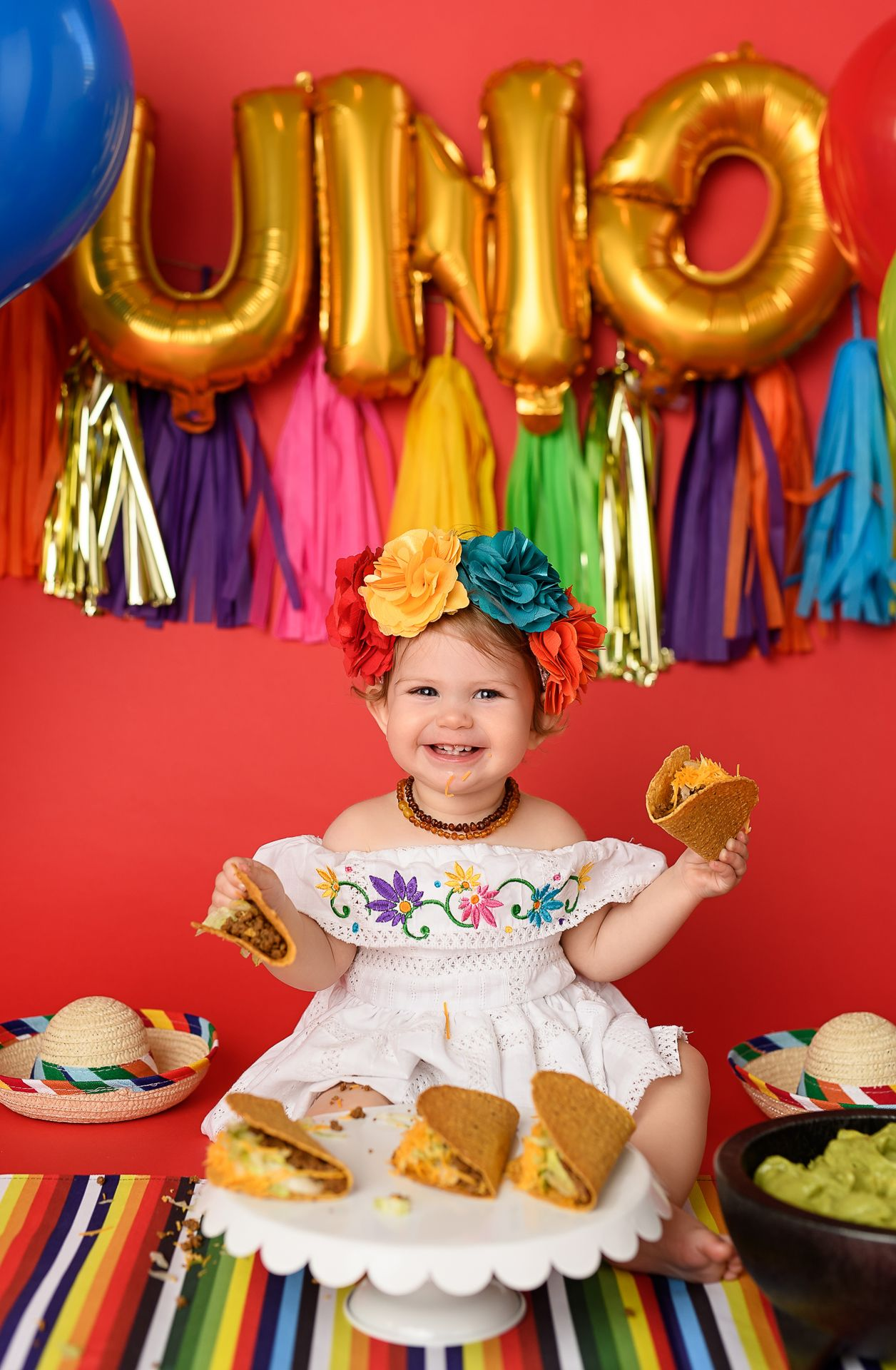 Affordable Birthday Photography Cake Smash Photography Mexican Birthday Parties Fiesta Birthday Party Fiesta Theme Party
