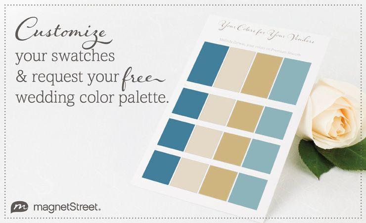 Free Wedding Color Palette