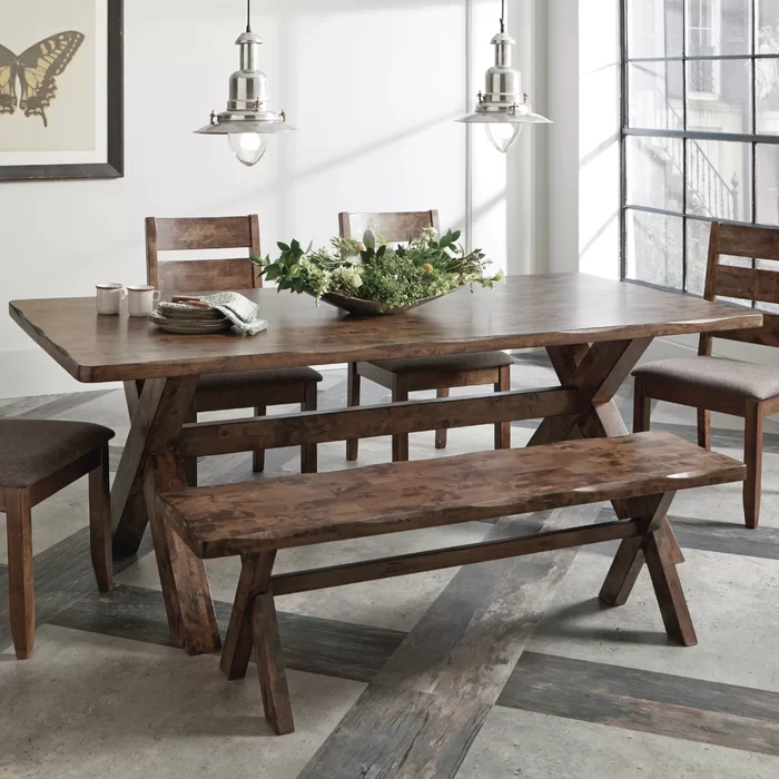 Pier 1 Table W Wayfair Bench French Dining Room Decor Dining Room French Square Dining Room Table