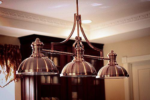 Pin By Kari Castor On Decor Light Fixture Ideas Copper Light Fixture Copper Lighting Farm Kitchen Decor