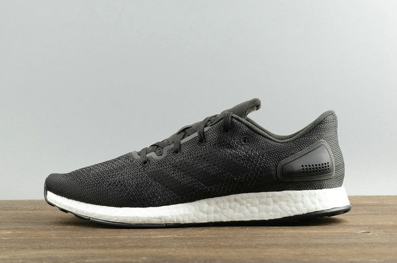 590bb0170 Populaire Men Adidas PureBoost DPR Core Black Noir Solid Grey White blanc  S82009 Youth Big Boys Sneakers