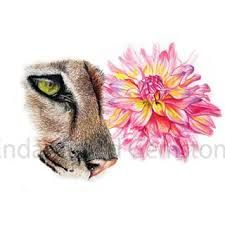 puma tattoo watercolor - Buscar con Google