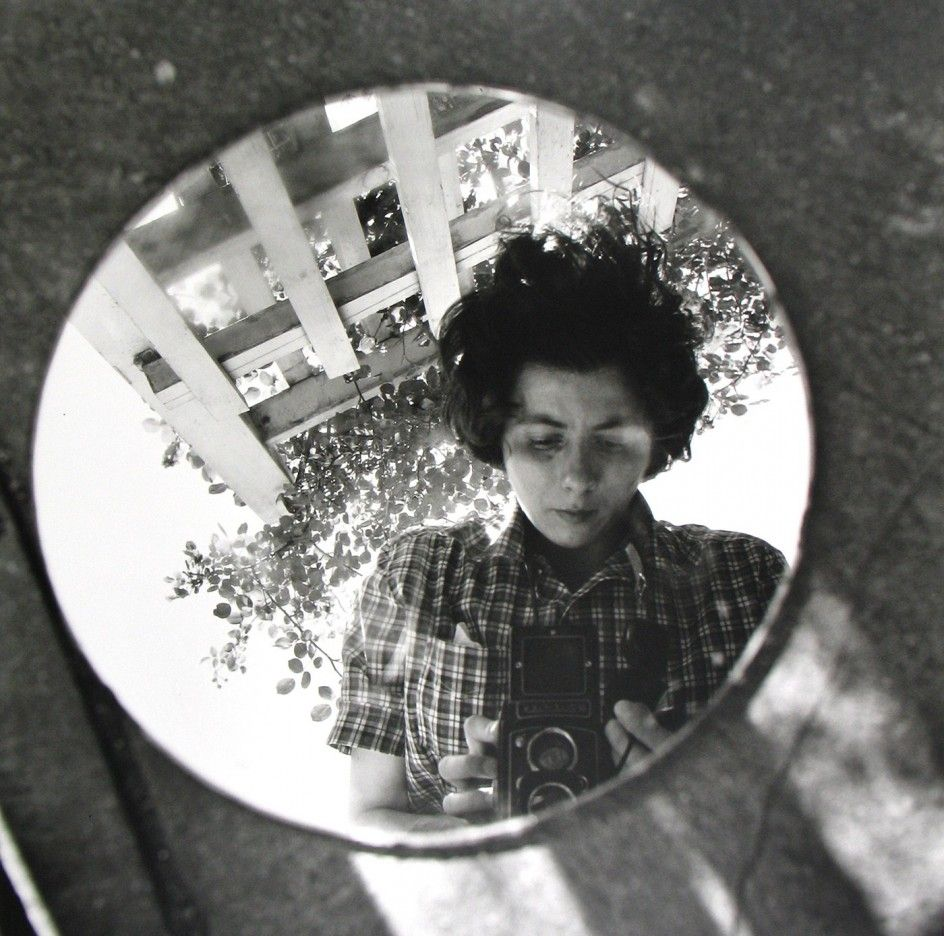 Vivian+Maier+-+Self-Portrait,+Undated