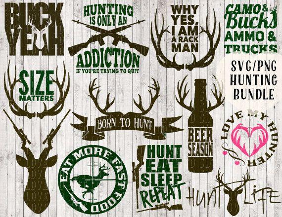 Hunting Svg Bundle Deer Svg Buck Svg Antler Svg