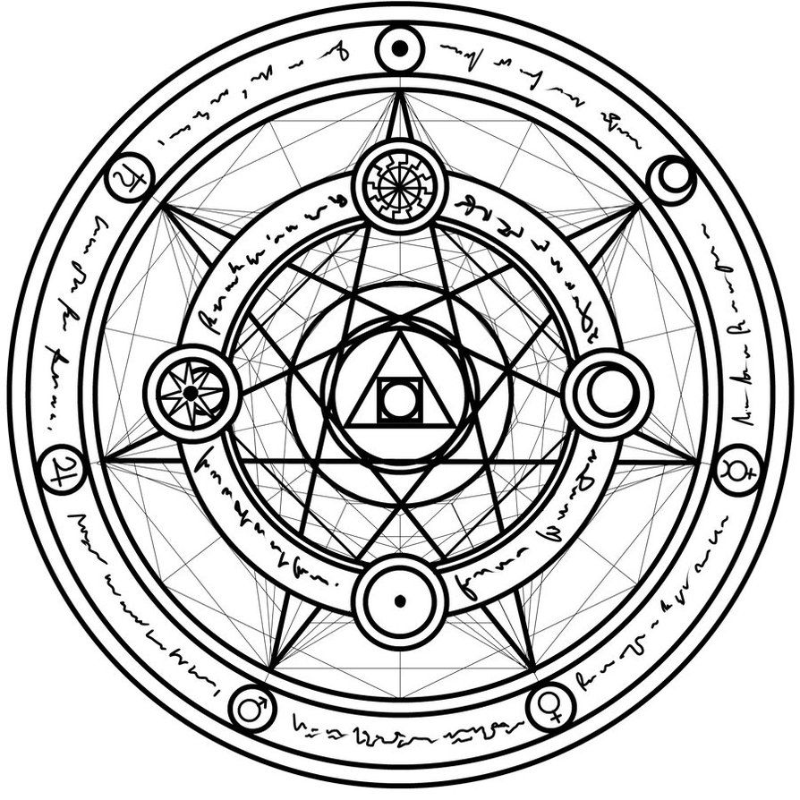 just another magic circle symmetry is just amazing