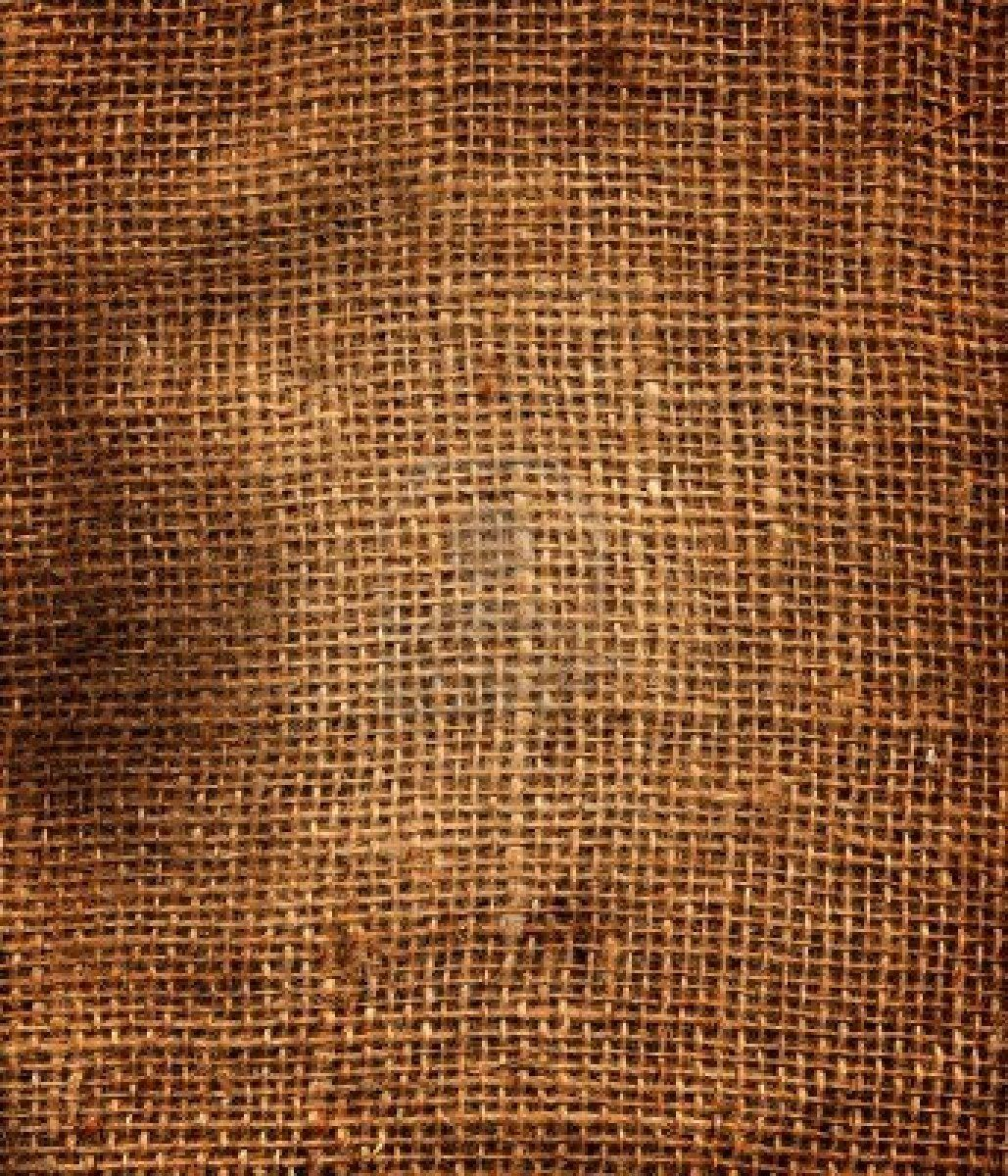 potato sack looking at the texture of the material