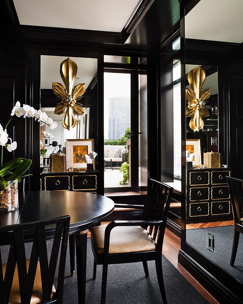 Zach Desart Photography Recent Commisions Gold Interior Design Gold Dining Room Gold Home Decor