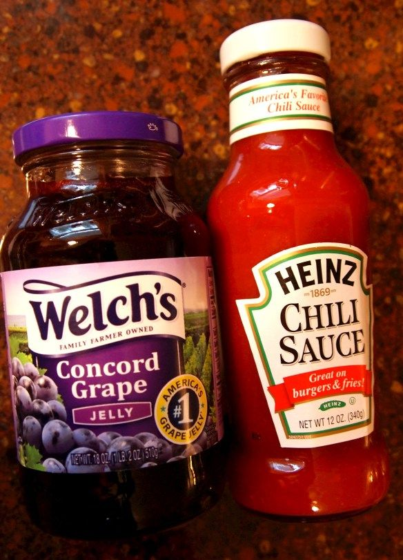 Game Day Meatballs with Spicy Grape Jelly Sauce - Comfortably Domestic