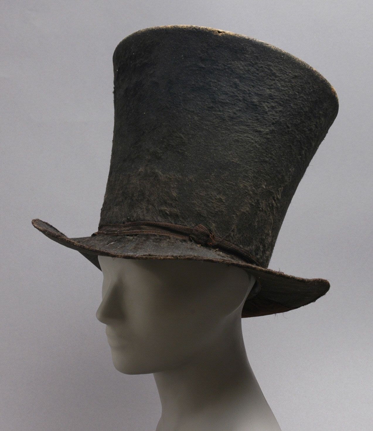 b15446e2e0d Philadelphia Museum of Art - Collections Object   Man s Hat 1820-1825
