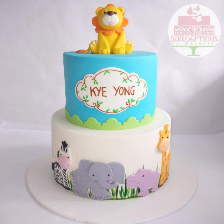 Safari themed cake by Michelle Chan Cakes Cake Decorating