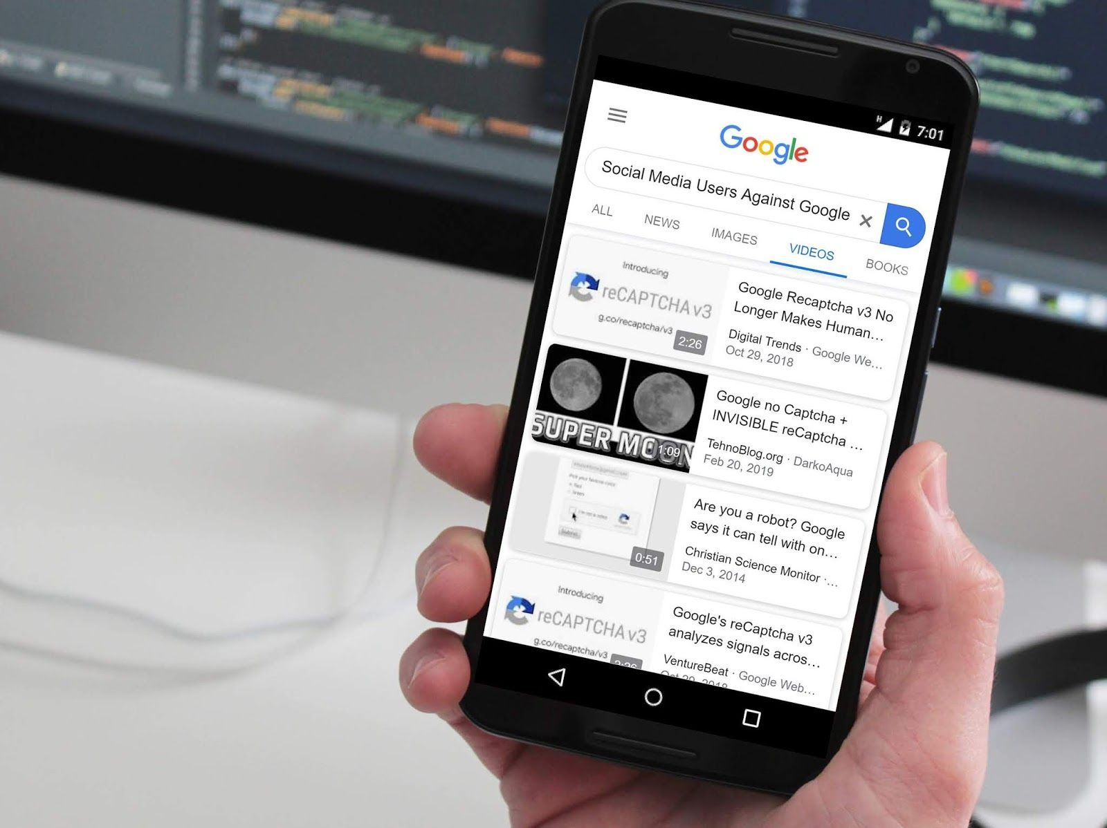 Google Search Results Lacking Youtube Videos Is Irritating Some