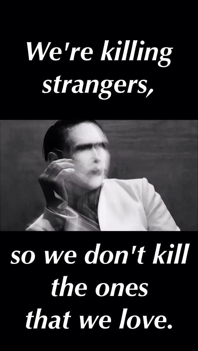 Marilyn Manson - Killing Strangers (John Wick Soundtrack