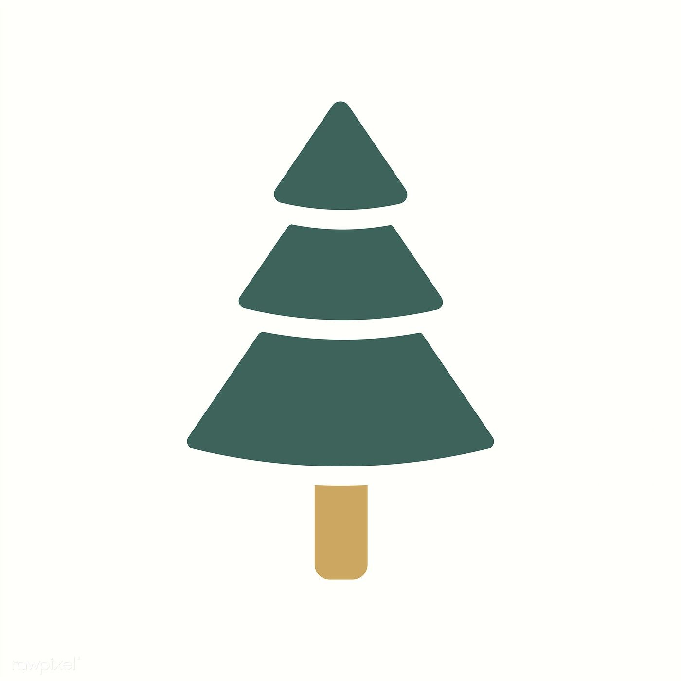 Christmas Tree Icon.Christmas Tree Icon Decoration Vector Free Image By