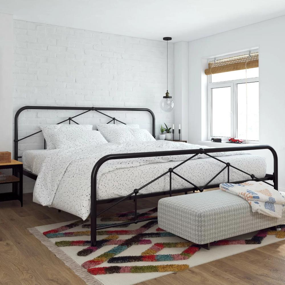 41++ Farmhouse iron bed inspiration