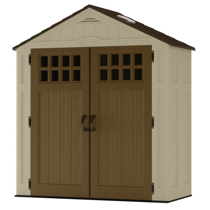 Attrayant Suncast Everett Storage Shed, 6 X 8 Suncast