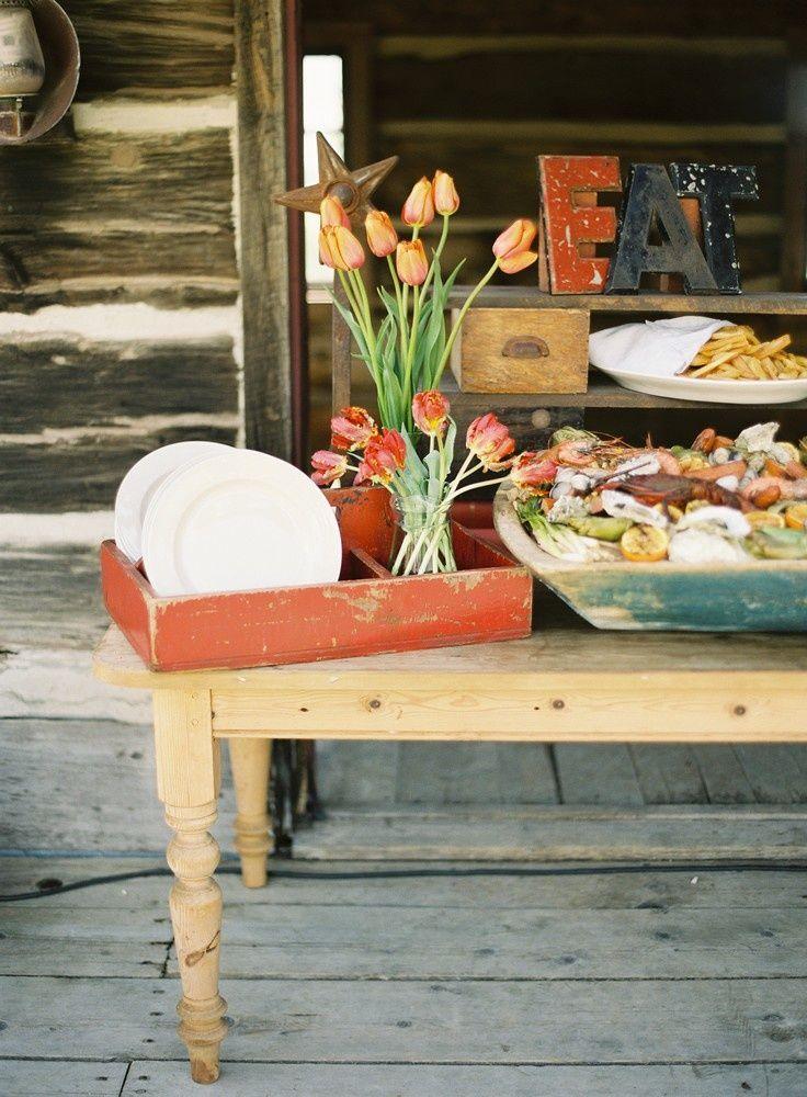 Mountain Farmhouse Wedding Food More Ideas At RealWeddingDay