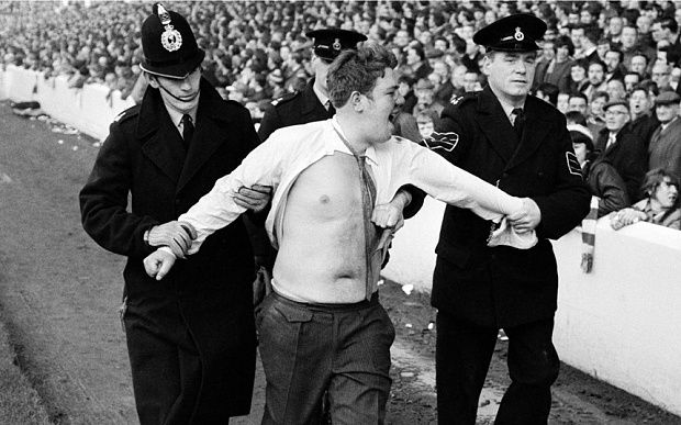 This is late 70s but should still have some good key words ?   Whatever happened to the 1970s football hooligans? - Telegraph