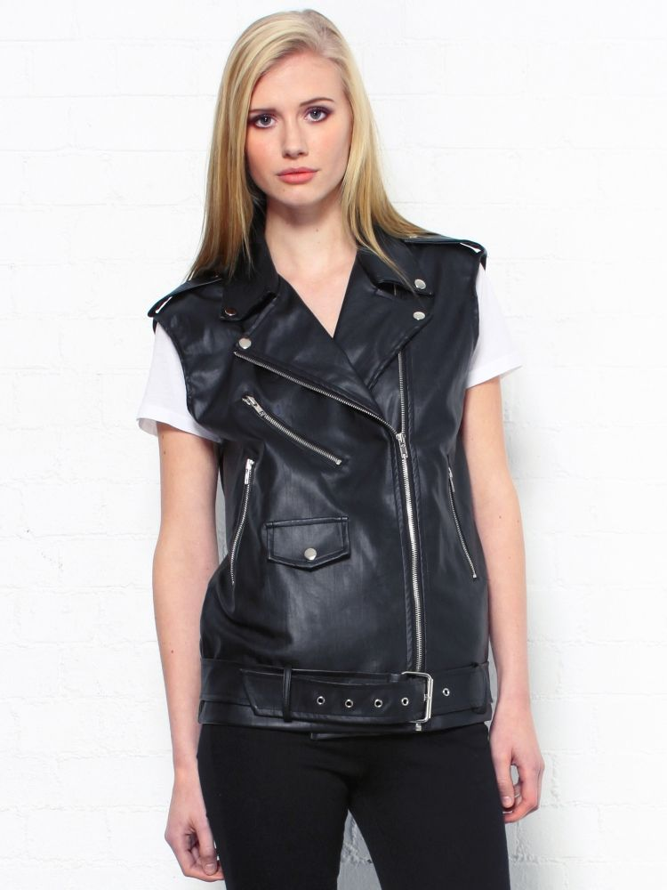 Leather vest, Vests and Biker jackets on Pinterest