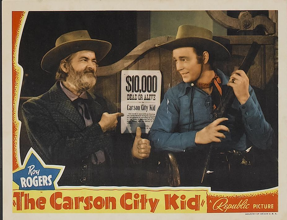 Directed by joseph kane with roy rogers gabby