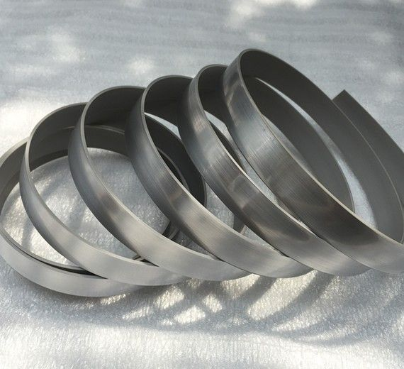2 19mm Customized Decorative Metal Edge Banding For
