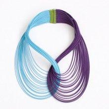 Collar Maria Violeta/Turquesa