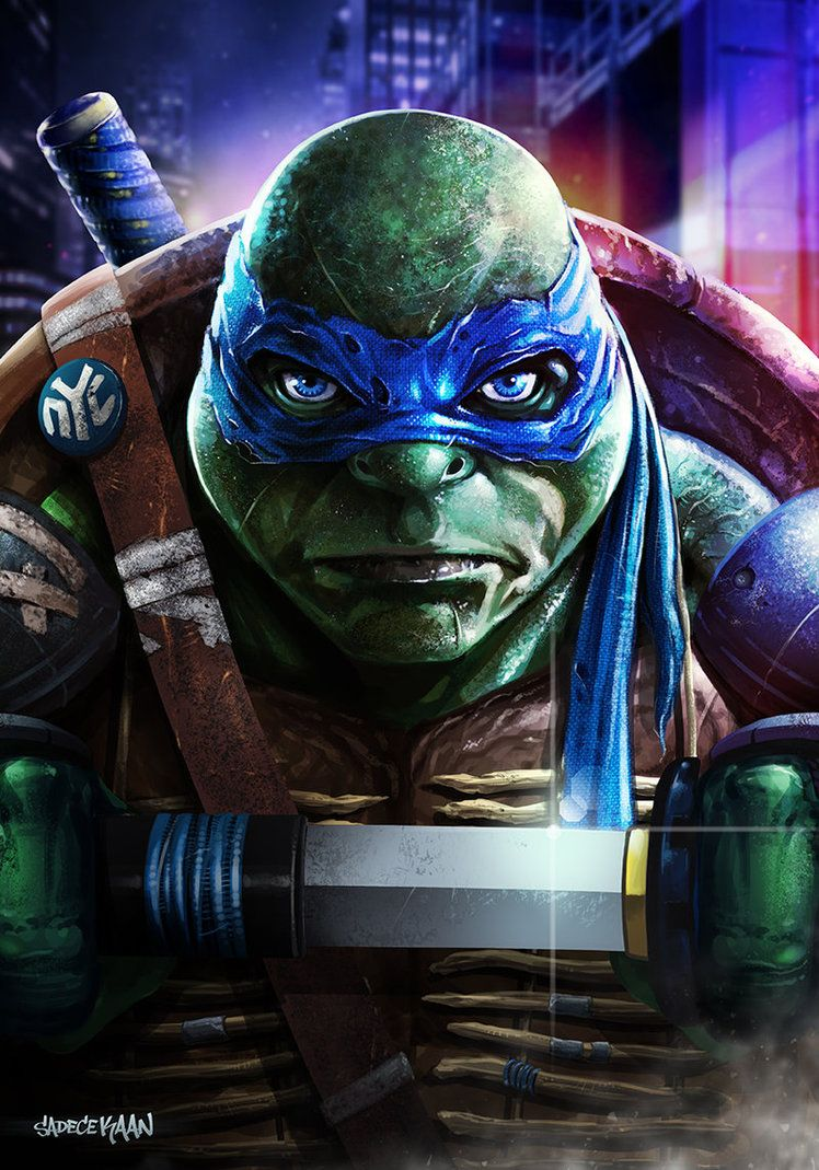 Leonardo Tmnt 2014 By Sadecekaan On Deviantart Teenage Mutant Ninja Turtles Art Ninja Turtles Artwork Tmnt
