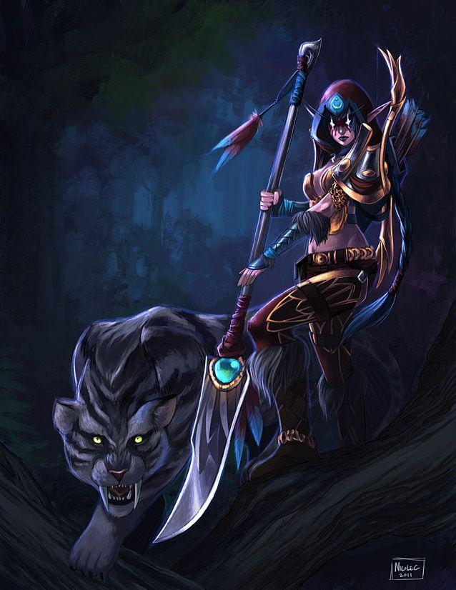 Commission Yarpa by ~Lelenia on deviantART | WarCraft | Elfo