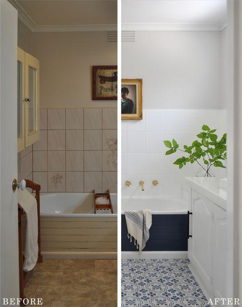 Budget-Friendly DIY Bathroom Reveal!