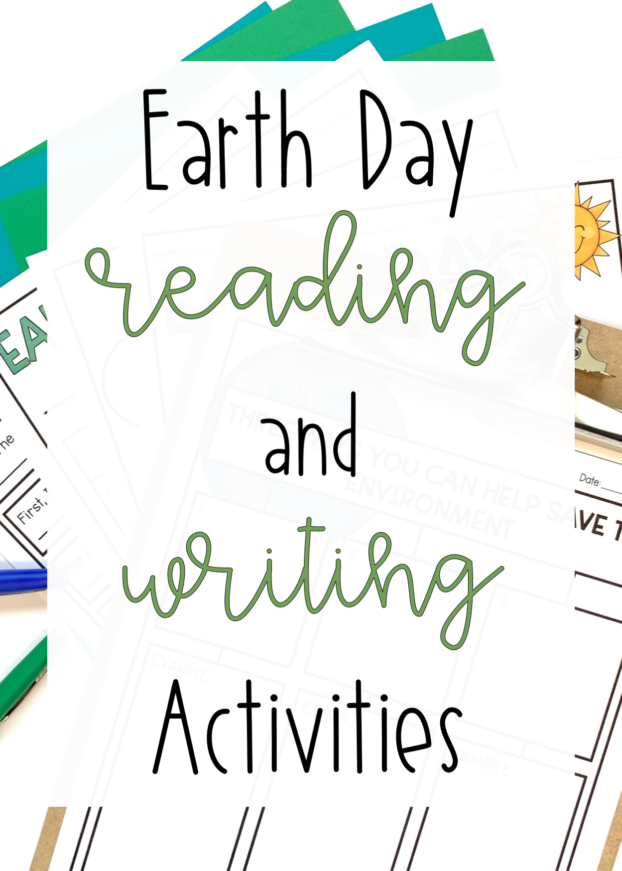 Earth Day Differentiated Reading And Writing Activities