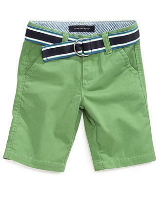 19cdaf631c2a Tommy Hilfiger Kids Shorts, Little Boys Chester Chino Shorts - Kids Tommy  Hilfiger - Macy's